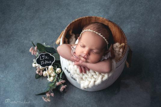 Sara Matos conta sobre a sessão newborn de sua filha